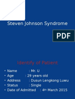 Steven - Johnson Syndrome