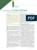 Nursing Article Self Protection