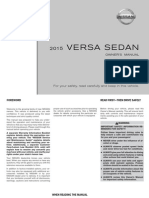 2015 VersaSedan Owner Manual