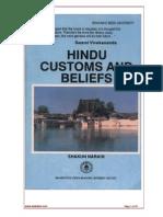 Hindu Customs and Beliefs