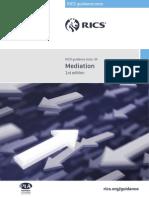 RICS Guidance - Mediation