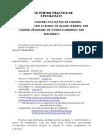 Ghid Practica - 18 Februarie 2015