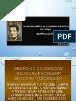 Ciencias Politicas-doctrinas Politicas Relativas a Los Fines Del Estado