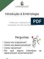 1 Introdução à Embriologia.pptx