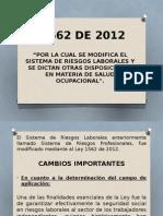 Ley 15 62 2012presentacion Foro H.R. Didier Burgos