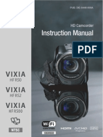 Canon Vixia HF R50 Manual