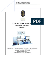 Electrical Machines 1 Lab Manual May 2015