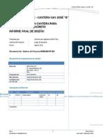 Informe - Cantera San Jose Concreto Rev A