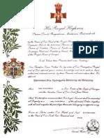 Grúz Sasrendi Diploma10