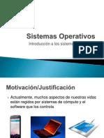 Introducción Sistemas Operativos