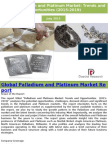 Global Palladium and Platinum Market