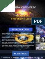 El Origen y La Evolucion Del Universo