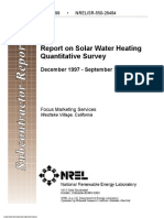 Water Heater Report