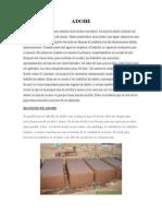 Adobe-madera