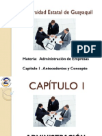 Administracion diapositivas