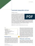Anatomía Topográfica Del Pie