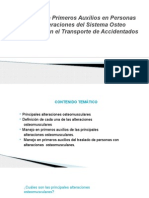 PRIMEROS AUXILIOS TRAUMA Y TRANSPORTE.pptx