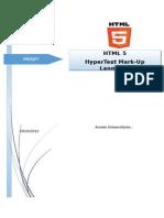 HTML 5 En Générale