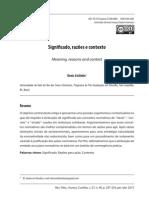 Denis Coitinho Significado Razões e Contexto