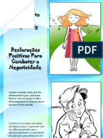 Declarações Positivas Para Combater a Negatividade - Positive Thoughts to Combat Negativity