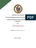 9 Áreas de Gestión de PMI