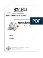 Cover Soal Osn 2012