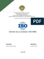Ensayo Gestión de La Calidad e ISO 9000.2005