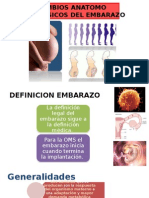 Cambios Fisiológicos en El Embarazo.