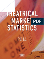 MPAA Theatrical Market Statistics 2014