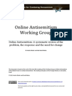 Online Antisemitism a Systemtic Review of the Problem the Response and the Need for Change - Matas and Oboler