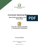 CNB Tercero B쟳ico_Ciencias Sociales_10!11!2010