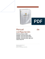 Manual de configuración Windows Server 2008