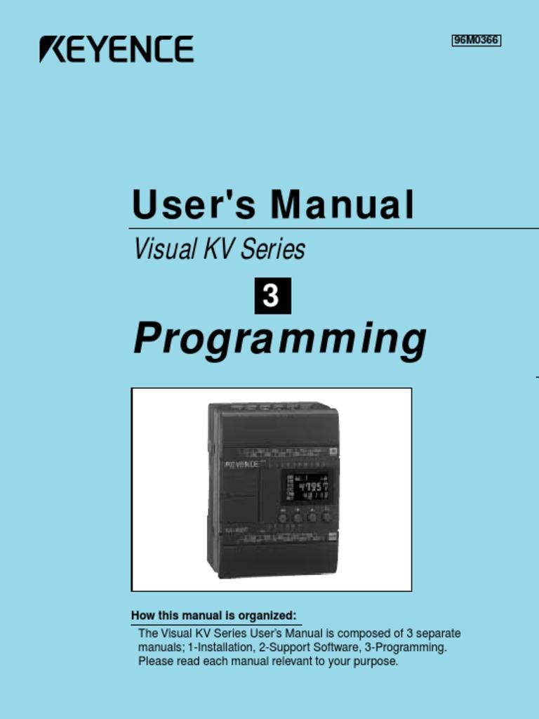 Keyence Programming | Parameter (Computer Programming) | Input/Output