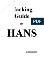 Hacking Guide By HANS