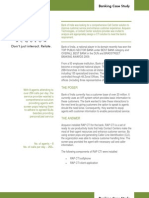 RAP CTI Case Study - Bank of India