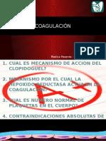 coagulación