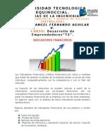 Indicadores Financieros Fernando Aguilar