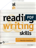 Natural English. Reading and Writing Skills Resource Book Elementary Level