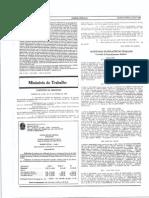 1988 - Portaria MTb 3.280-88 - Dá Competência Do MTb Pro Registro