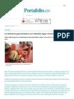 La Industria Gastronómica en Colombia Sigue Creciendo