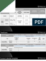 Digital Management Resource & Timeline