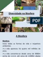 Diversidade Na Biosfera