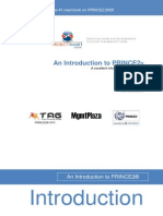 PRINCE2 Foundation Introduction