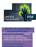 Copy of Learning Environment Presentation