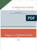 Writing the Manuscript Activity