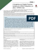 Fibrosis Hepática Congénita en El Caballo Franches-Montagnes Es Asociada Con El Riñon Poliquístico y La Enfermedad Hepática 1 (PKHD1) Gen