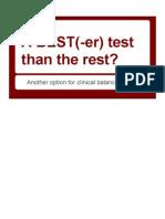 A BEST(-Er) Test Than the Rest Speaker Notes Final