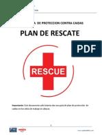 Plan de Rescate - Trabajos en Altura