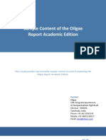 comprehensive oilgae report