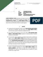 Solicitud Imputación Maria Obdulia. Corrección 2